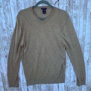 GAP Sweaters - Gap Tan Merino Wool Sweater
